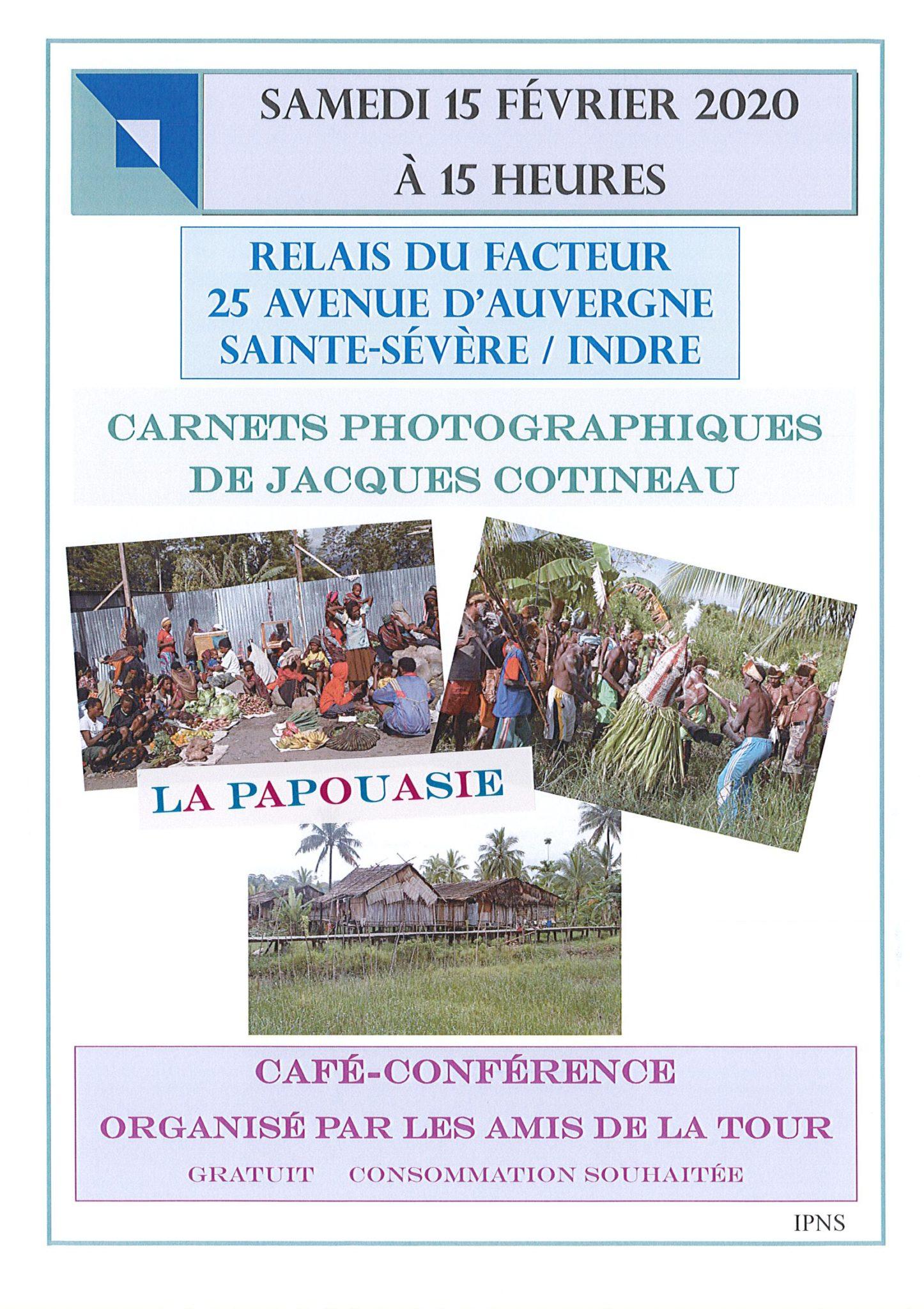 15 février – café conférence la Papouasie