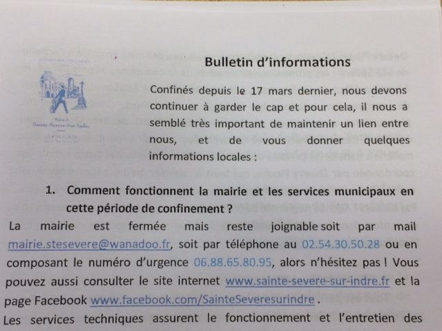 Bulletin d'informations n°2